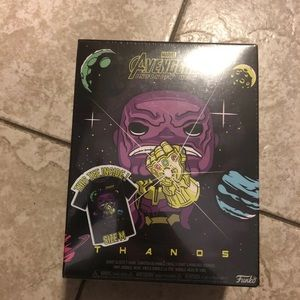 Other - Avengers THANOS Funko Pop & Tee (READ